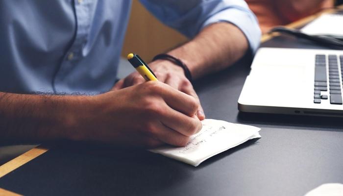 Escrevendo Notas